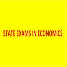 New term  for the State Exam in Economics